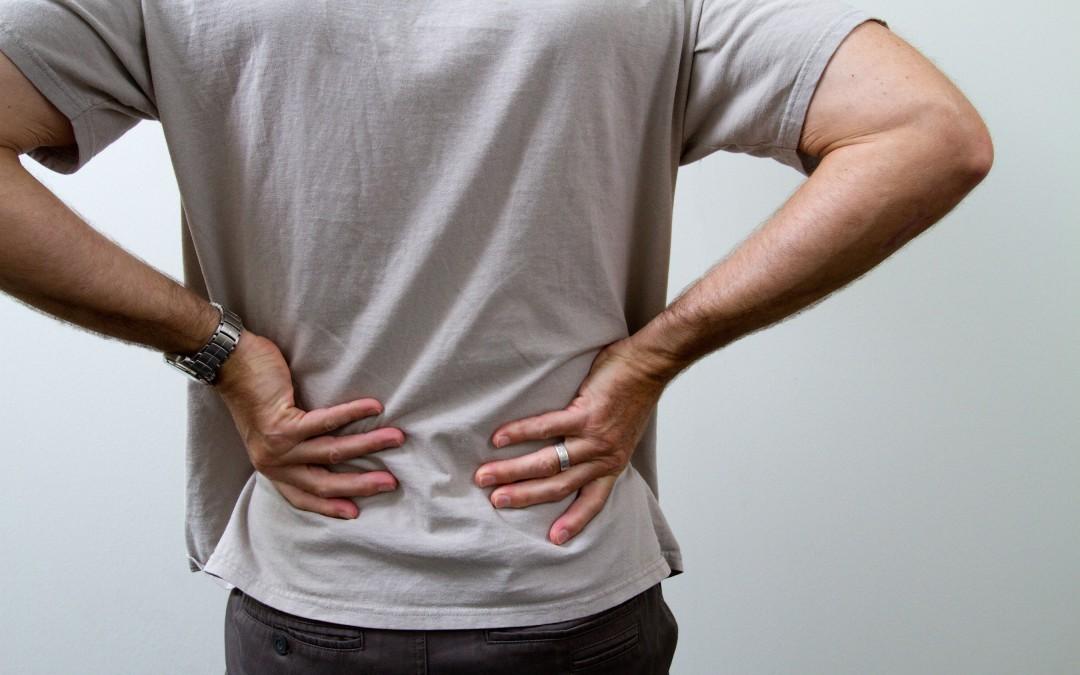 Algunas causas del dolor de espalda